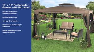 15 X 15 Metal Gazebo by Brylanehome 2013 New Gazebos Youtube
