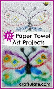 kitchen towel craft ideas best 25 paper towel crafts ideas on paper towel rolls