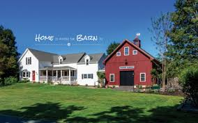 house and barn barn attached to house the best barn red paint the lettered cottage