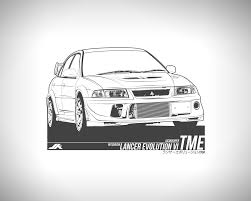 mitsubishi evo drawing mitsubishi lancer evolution 6 5 tme by jacobkuiper on deviantart