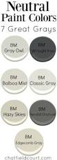 7 great gray paint colors gray paint colors benjamin moore and gray