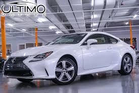 white lexus rc 350 awd pre owned 2015 lexus rc 350 f sport coupe in warrenville um2598