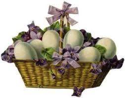 vintage easter baskets inkspired musings easter egg cellent
