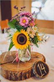 sunflower centerpieces 28 table centerpieces in different styles everafterguide