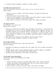 Pastry Chef Resume Assignment Writing Apa Formats For Essays Health Essay