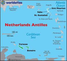 netherlands beaches map netherlands antilles map geography of netherlands antilles map