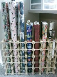 gift wrap roll storage gift wrap paper roll storage
