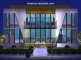 symmetrical house plans modern symmetry 2x3 the sims fan page