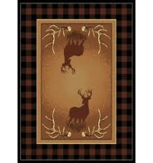 rustic cabin rugs western decor rugs lodge themed rugs