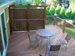 Decks And Pergolas Construction Manual by Privacy Deck With Pergola Deck Arbor Home Decked Out