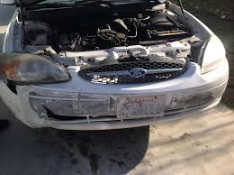 need advice on 2001 taurus se bumper u0026 fender removal taurus car