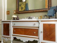 Diy Bathroom Vanity Top Replacing A Vanity Top How Tos Diy