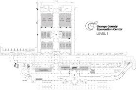 orange county convention center map maps executive symposium at cisco live july 11 12 2016 las