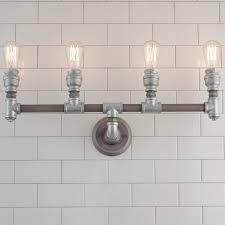 industrial rustic u0026 farmhouse bath lighting shades of light