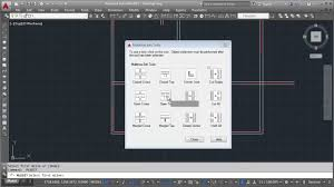 autocad making floor plan with multiline youtube