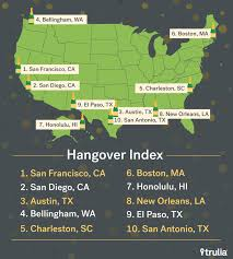 halloween city bellingham wa trulia ranks charleston sc 5 most hungover city in latest study