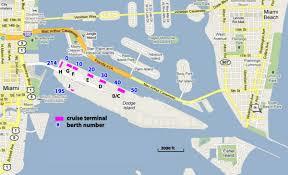 miami airport terminal map cruises from miami florida miami cruise ship departures