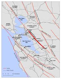 Map Of San Francisco Area by Living In Earthquake Country Looking At The Hayward Fault The