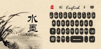 keyboard themes for android free download go keyboard ink theme one of go keyboard theme is avaliable for