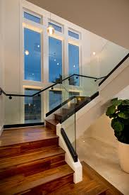 Banister Railing Non Slip Stair Treads In Staircase Contemporary With Staircase