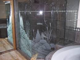 glass shower door tub corner shower using glass sliding shower