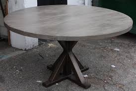 round dining table metal base metal x base round dining table mortise tenon