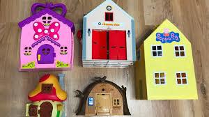 Peppa Pig Cuckoo Clock House Toys For Kids Peppa Pig Fireman Sam Masha And The Bear
