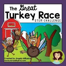 thanksgiving stem challenge the great turkey race smart board