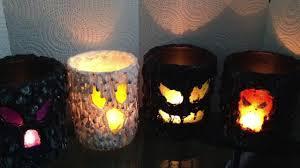 halloween votive candle holders halloween diy