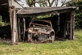 rusty car old rusty car u2014 bossfight