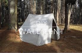 diy wall tent youtube