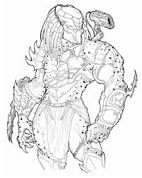 predator coloring pages itgod me