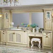 Oak Bathroom Cabinets by Op14 020 Traditional White Red Oak Bathroom Cabinet