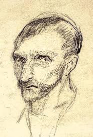 vincent van gogh the drawings self portrait