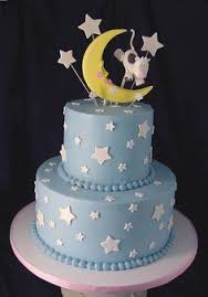 twinkle twinkle baby shower cake by layered bake shop photo by