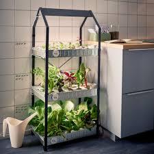 under cabinet grow light hydroponic gardening krydda vaxer series kit ikea sustainable homeware design interior indoor dezeen 936 8 jpg