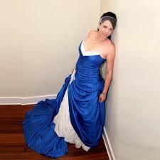Plus Size Wedding Dresses Uk 2017 Plus Size Ball Gown Wedding Dresses Unique Design Blue Satin