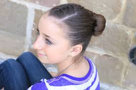 Fancy Hairstyles For Little Girls by How To Create An Infinity Bun Updo Hairstyles Cute Girls