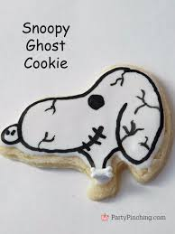 halloween snoopy cookies party pinching