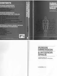 Time Saver Standards For Interior Design Human Dimension U0026 Interior Space By Julius Panero And Martin