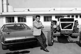 what year did lamborghini start cars lamborghini cars were a result of a tractor company owner being