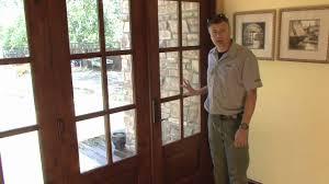 Bi Fold Glass Patio Doors by Slick Bi Folding French Doors Demo Youtube