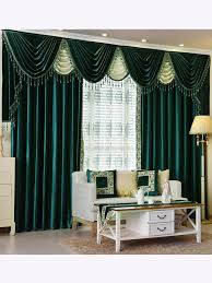 Blue Swag Valance New Arrival Denali Green And Blue Waterfall And Swag Valance And