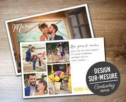 faire part de remerciement mariage assortissez vos cartes de remerciements mariage à votre faire part