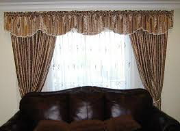 curtain valances for bedroom collection with brown pictures sheer