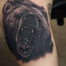 42 best angry bear 3d tattoos images on pinterest 3d tattoos
