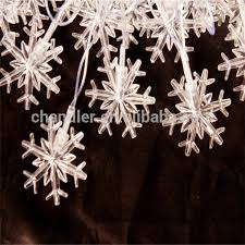 Outdoor Snowflake Lights Led String Lights Outdoor Decoration 50m 400led Snowflake String