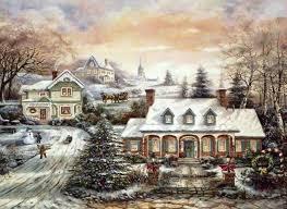 wintery and christmas scenery christmas scene pinterest