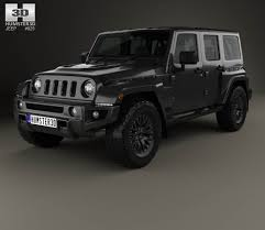 jeep wrangler white 4 door jeep wrangler project kahn jc300 chelsea black hawk 4 door 2016 3d