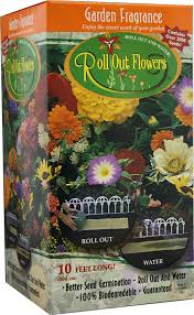 roll out flower garden garden innovations gf1000 10 inch by 10 foot roll out flowers